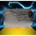 BACK TO THE FUTURE - SILVER PLATED TICKET - ENCHANTMENT UNDER THE SEA DANCE