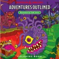D&D ADVENTURE - OUTLINED COLORING BOOK