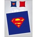DC COMICS - CUSCINO SUPERMAN LOGO 40 X 40CM