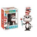 DR. SEUSS - POP FUNKO VINYL FIGURE 10 CAT IN THE HAT WITH CAKE & UMBRELLA 9CM