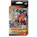 DRAGON BALL SUPER CARD GAME - PREMIUM PACK 01 - RISE OF THE UNISON WARRIOR - DISPLAY 8 MAZZI