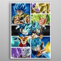 FANART - DRAGON BALL - 509731M - TAG TEAM