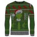 GRINCH - KNITTED JUMPER - HO HO NO L