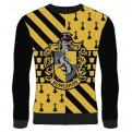 HARRY POTTER - KNITTED JUMPER - HUFFLEPUFF L