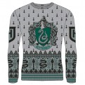 HARRY POTTER - KNITTED JUMPER - SLYTHERIN CREST XXL