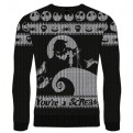 NIGHTMARE BEFORE CHRISTMAS - KNITTED JUMPER - YOURE A SCREAM XL