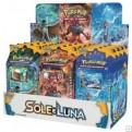 POKEMON - BOX 12 MAZZI - SOLE E LUNA