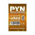PYN - 100 BUSTINE PER GIOCHI DA TAVOLO - 41X63MM