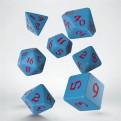 SCLR2D - SET 7 DADI - CLASSIC RUNIC BLUE RED