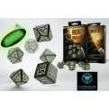 SNUR19 - SET 7 DADI NUKE GLOW IN THE DARK - 55101