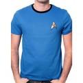 STAR TREK - TS1201 - T-SHIRT UNIFORM BLUE S