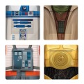 SW02621 - STAR WARS - SET 4 PIATTI: I'M JEDI 2