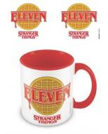 MGC25265 - STRANGER THINGS - MUG COLOURED INNER - ELEVEN