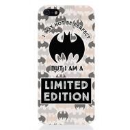 BATMAN48 - COVER IPHONE 5 BATMAN LIMITED EDITION OPACA