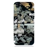 BATMAN66 - COVER IPHONE 5 MILLER COMICS BATTLE OPACA