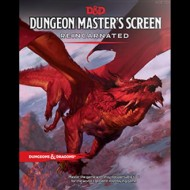 D&D 5.0 - DUNGEON MASTER SCREEN REINCARNATED - ENG