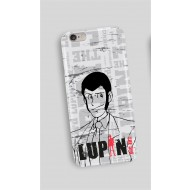 LUPIN19 - COVER SAMSUNG S6 LUPIN FIGURE WHITE