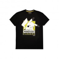 POKEMON - T-SHIRT UOMO - EMBARRASSED PIKA M