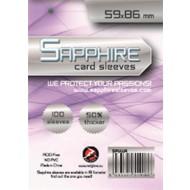 SAPPHIRE LILLA - 100 BUSTE PROTETTIVE 59X86MM