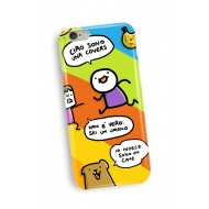 SIO06 - COVER I-PHONE X COLOR CHAT