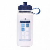 WTRBDW02 - DOCTOR WHO - WATER BOTTLE (PLASTIC) - DR WHO (TARDIS)
