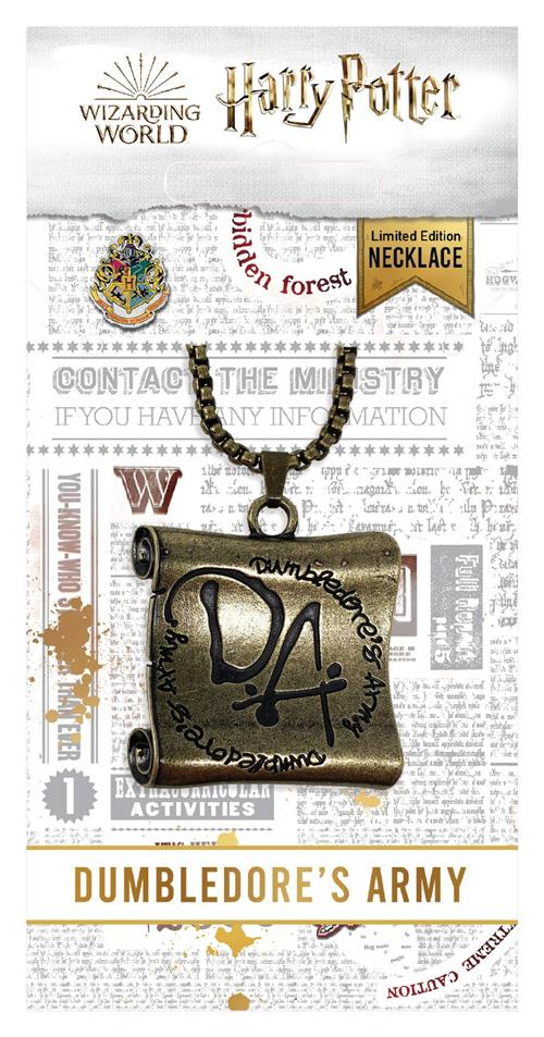 HARRY POTTER - JEWELLERY - DUMBLEDORE\'S ARMY NECKLACE