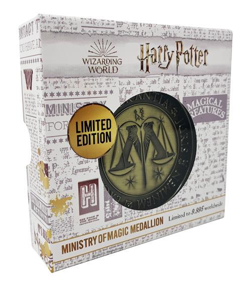 HARRY POTTER - MEDALLION - MINISTRY OF MAGIC