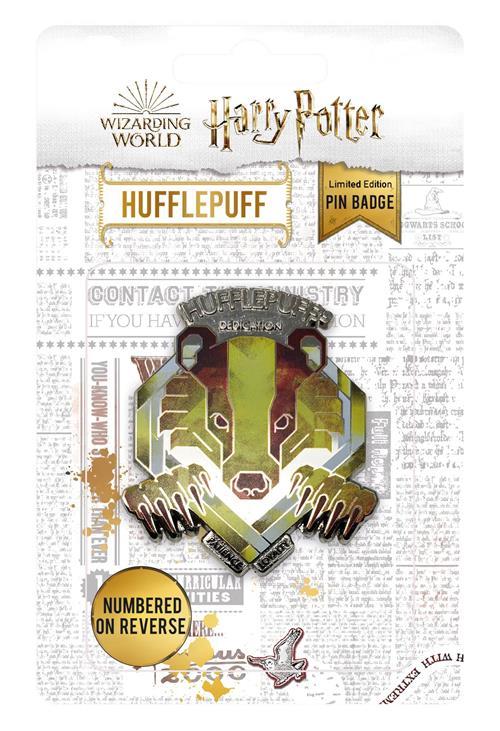HARRY POTTER - PIN BADGE - HUFFLEPUFF