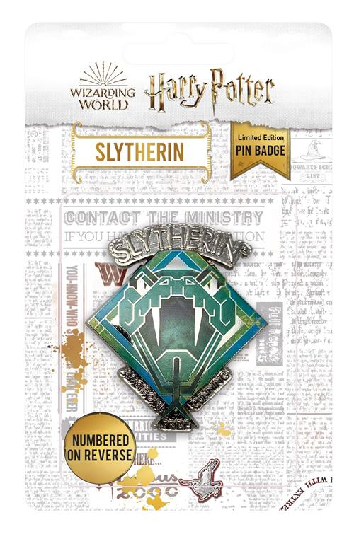 HARRY POTTER - PIN BADGE - SLYTHERIN