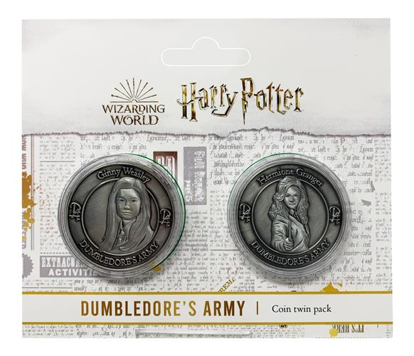 HARRY POTTER - TWIN PACK OF FLIP COIN - HARMIONE AND GINNY