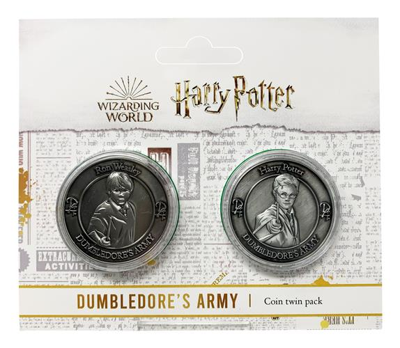 HARRY POTTER - TWIN PACK OF FLIP COIN - HARRY AND RON