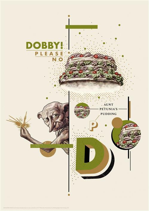 HARRY POTTER - WALL ART - DOBBY