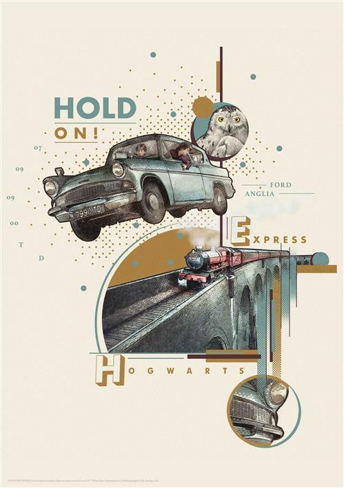 HARRY POTTER - WALL ART - WEASLY\'S CAR