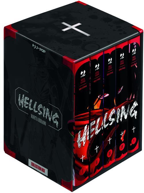 HELLSING NEW EDITION BOX (VOL 1-5)