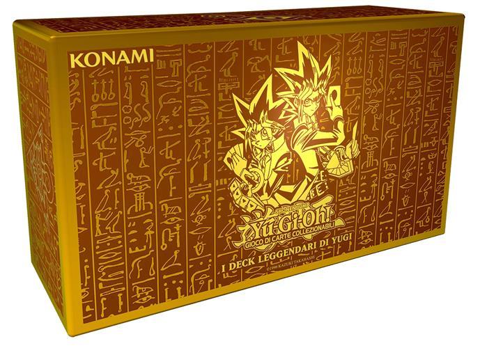 YU-GI-OH! KING OF GAMES - I DECK LEGGENDARI DI YUGI UNLIMITED